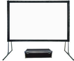 Fast Folding Projection Screen with Flight Case, Competitive Price pictures & photos