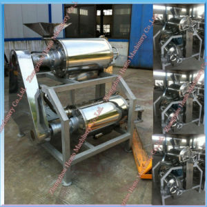 Best Selling Double Channel Fruit Pulp Machine pictures & photos