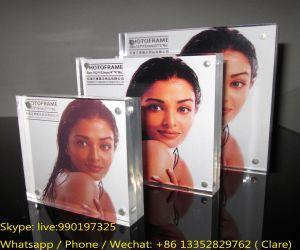 Home Decoration Transparent Sex Lucite Photo Frame pictures & photos