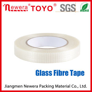 Milky 25um Film Thickness Pet Glass Fibre Tape pictures & photos