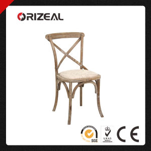 Brand New Cafe French Cross Back Dining Chair (OZ-SW-037) pictures & photos