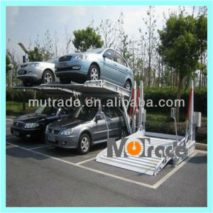 Lift Machine Tptp-2 Two Post Tilting Car Parking Lift Car pictures & photos