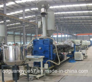 Recycled WPC Construction Formwork Extruder Machine pictures & photos