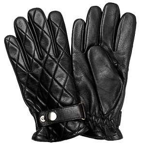 Mens Leather Gloves Belts Back (SW774)