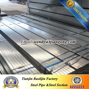 30*30*1.0mm Pre Galvanized Square Steel Tube/Pipe pictures & photos