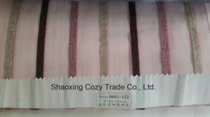 New Popular Project Stripe Organza Voile Sheer Curtain Fabric 0082122 pictures & photos