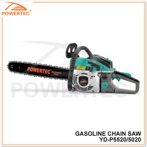 Powertec 54cc Gasoline Chainsaw (YD-P5520) pictures & photos