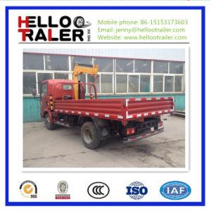 5 Ton Cargo Truck Crane (lift capacity 3.5ton) pictures & photos