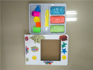 Educational Toys Magic Sand with Tool Mould Sand for Space Sand