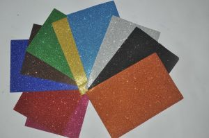 Glitter EVA Foam Sheet for School Craft and Office Papers pictures & photos