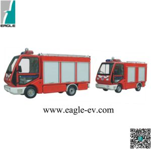 Electric Fire Engine, CE Approved, with Roof Ladder, Rear Ladder, Fire Engine, Small for Narrow Place pictures & photos