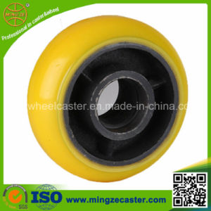 Korean Style High Elastic Polyurethane Mold on Cast Iron Wheel pictures & photos