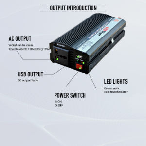 600W DC to AC Solar Power System Inverter with Ce Certificate pictures & photos
