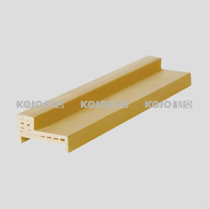 WPC Waterproof Interior Decorative Material Door Frame (PM-44) pictures & photos