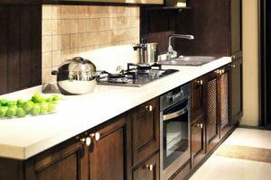 2017 Warm Color European Style PVC Kitchen Design (zc-029) pictures & photos