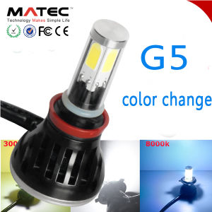 2017 latest LED Headlight Kit for Car H13 LED Headlight with 4 Sides COB Chips pictures & photos
