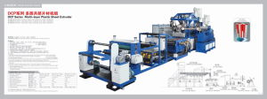 Multi Layer Sheet Extruder for PP/PS pictures & photos