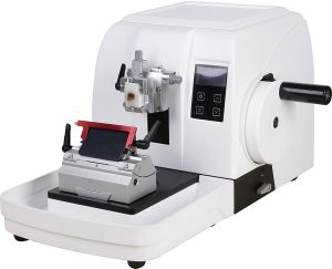 Wide Thickness Semi Automatic Microtome pictures & photos