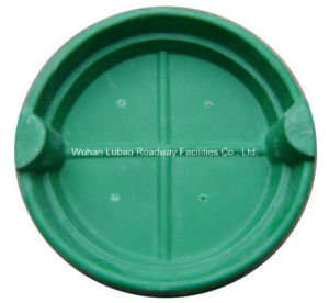 En124 B125 SMC Square Green Lawn Manhole Cover