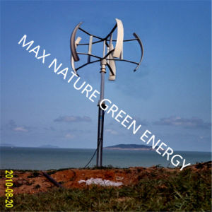 Max 5000W Vertical Wind Turbine (a kit with controller) pictures & photos