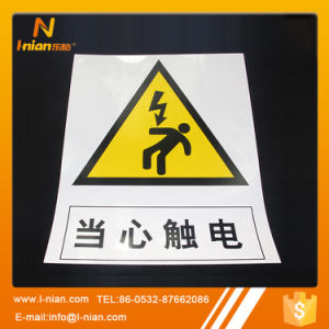 Custom Printing Reflective Safety Warning Labels for Construction pictures & photos