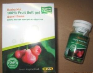 China Basha Nut 100% Fruit Soft Gel - China Basha Nut ...