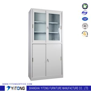 Yitong 4-Door Movable Door Metal Storage Cabinet / Office Use Steel File Cabinet pictures & photos