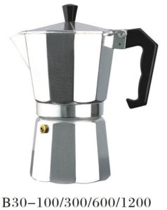Aluminum 1/3/6/9/12 Cup Moka Pot pictures & photos