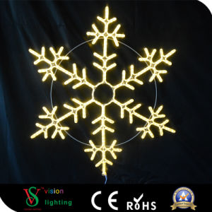 2017 New 2D Motif LED Snowflake Light pictures & photos