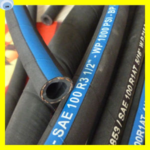 Oil Hose Fibre Braided Hose Chinese Rubber Hose pictures & photos