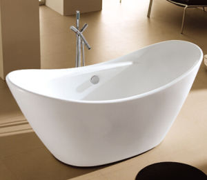 2014 New Design Hotel Freestanding Acrylic Bathtub pictures & photos
