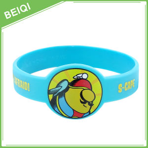 Custom Silicone Wristband with Watch Shape, No MOQ, Custom Logo pictures & photos
