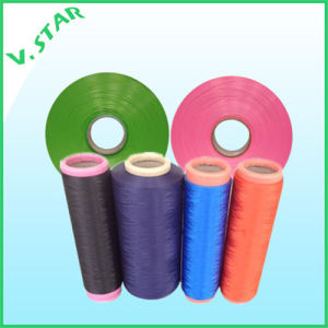 Polyester Dope Dyed High Tenacty Yarn pictures & photos