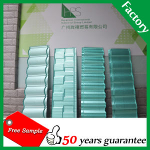Aluminum Steel Stone Roof Tile Roofing Material Stone Coated Metal Roof Tile Sheet pictures & photos