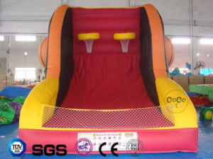 Coco Water Design Inflatable Basketball Theme Climbing Wall LG9067 pictures & photos