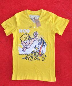 2015 Hot Sale Super Marc V- Neck Children T-Shirt pictures & photos