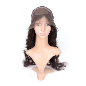 Hair Wig of Brazilian Silk Front Lace Wig pictures & photos