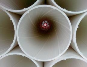 Inner Spiral Silencing PVC-U Drainage Pipe pictures & photos