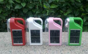 Solar Protable Camping Lamp with Flashlight