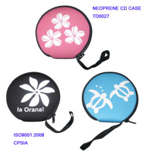 Neoprene CD Case Pouch Bag pictures & photos