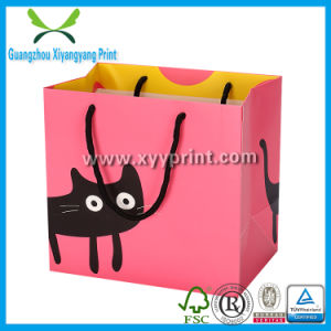 Colorful Kraft Paper Shopping Bag with Customized Size pictures & photos