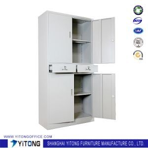 Yitong 4-Door2-Drawer Metal Storage Cabinet / Office Use Steel File Cabinet pictures & photos