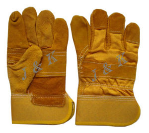 Leather Glove Leather Gloves Working Gloves Labor Glove pictures & photos