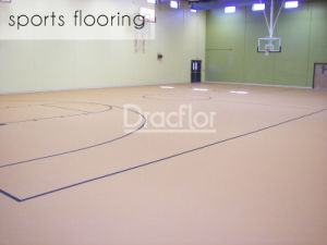 Top Quality Basketball Floor PVC Sports Flooring (S-8010) pictures & photos