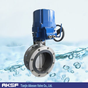 Electric Rubber Lined Concentric Butterfly Valve