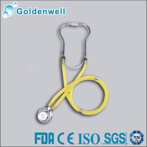 Cardiology Stainless Steel Stethoscope (JS005)