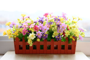 Rectangle Planter Pots for Artificial Flowers