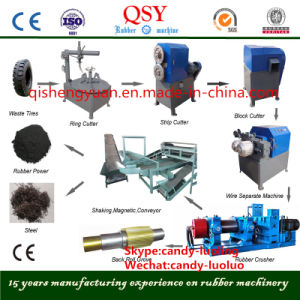 Full/Semi Automatic Scrap Old Waste Tire/Tyre Recycling Machine/Plant pictures & photos
