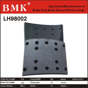 High Quality Brake Lining (LH98002) for Isuzu pictures & photos