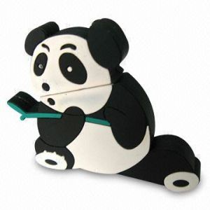 Panda PVC USB Flash Drive pictures & photos